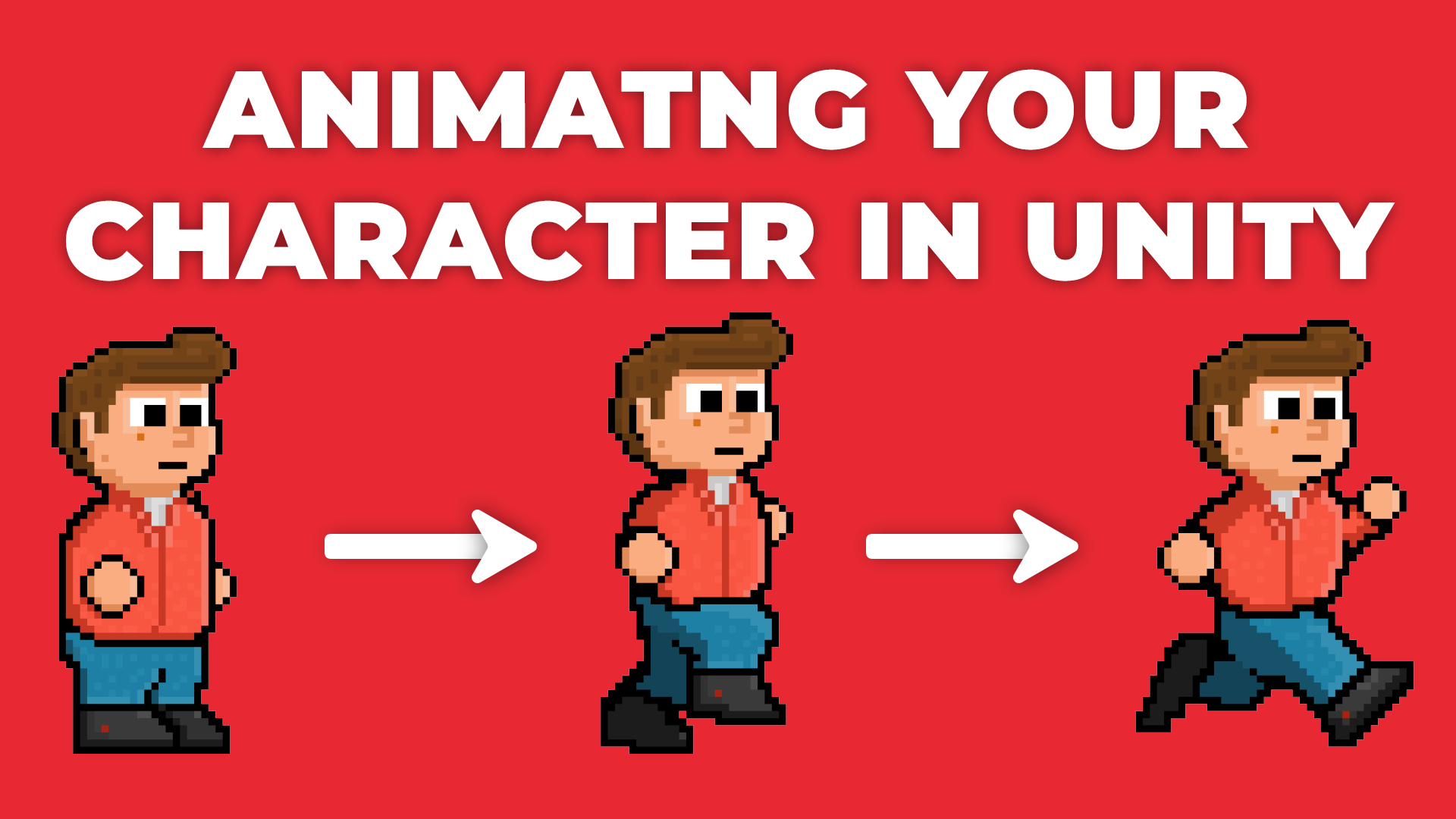 Animating Character's Movements - How To Animate Using 2D