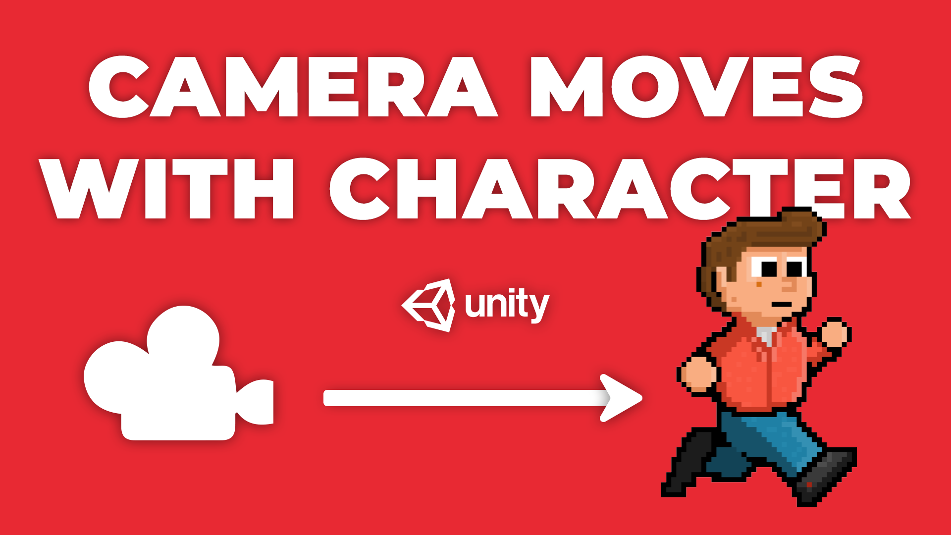 Camera Moves With Character - How to get the camera to