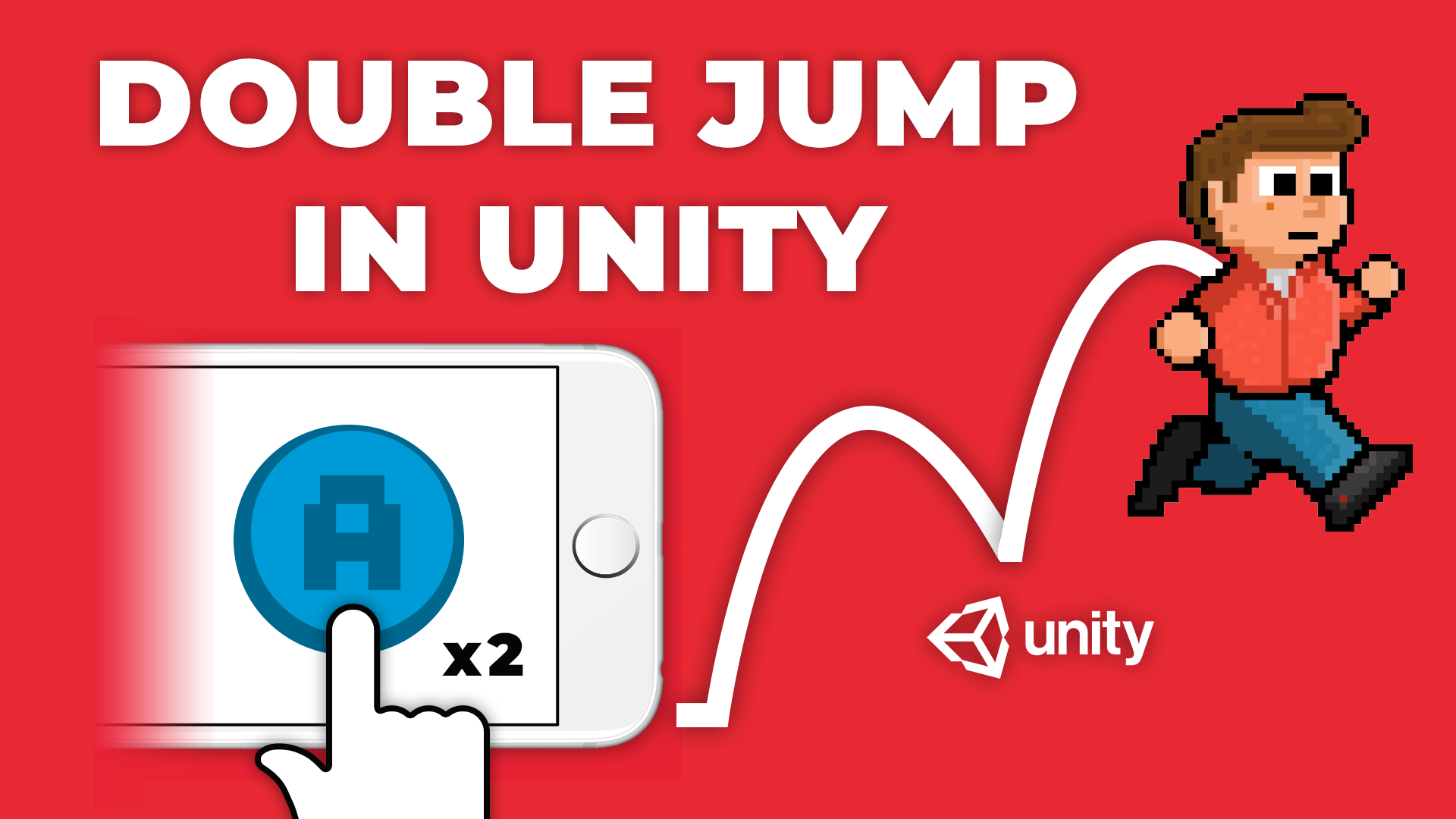 How To Double Jump - Learn How to do Multiple Jumps in Unity