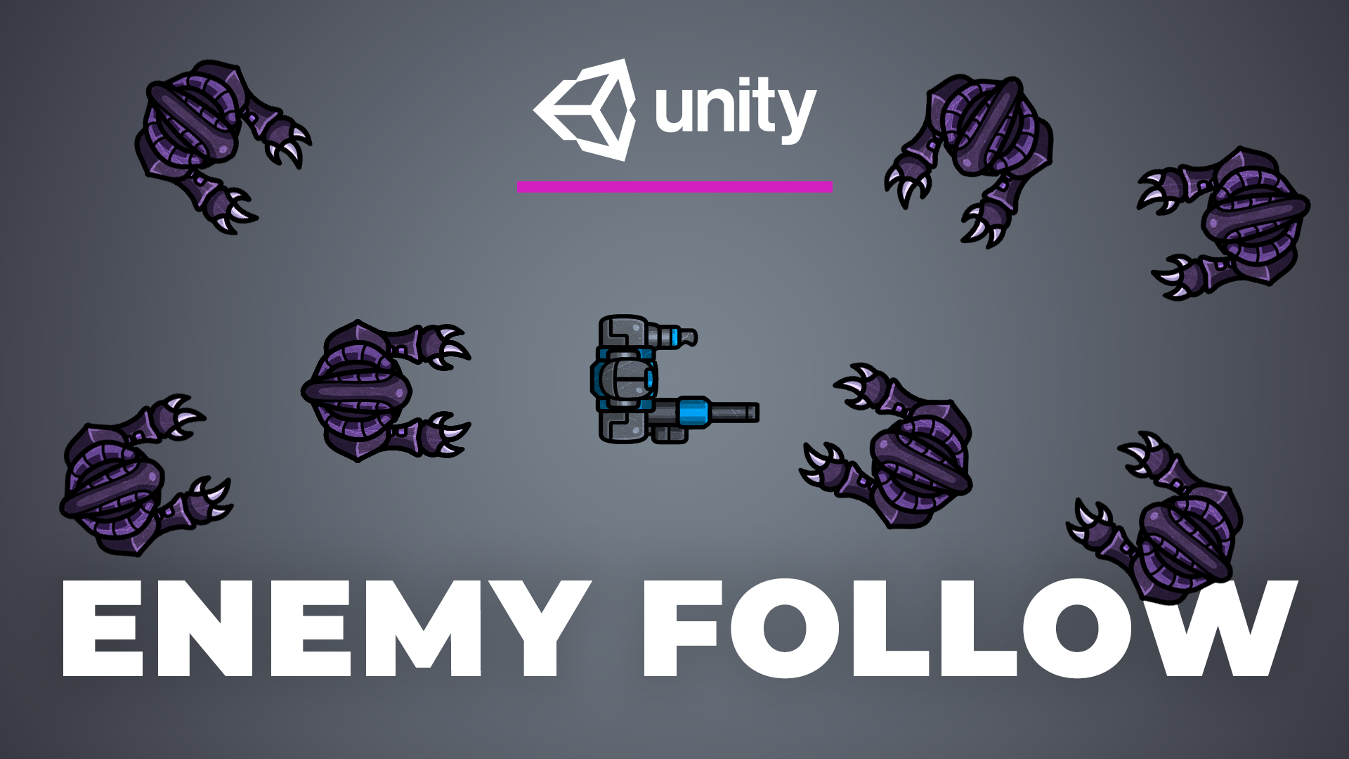 Follow Enemy AI - How to make enemies follow a player object