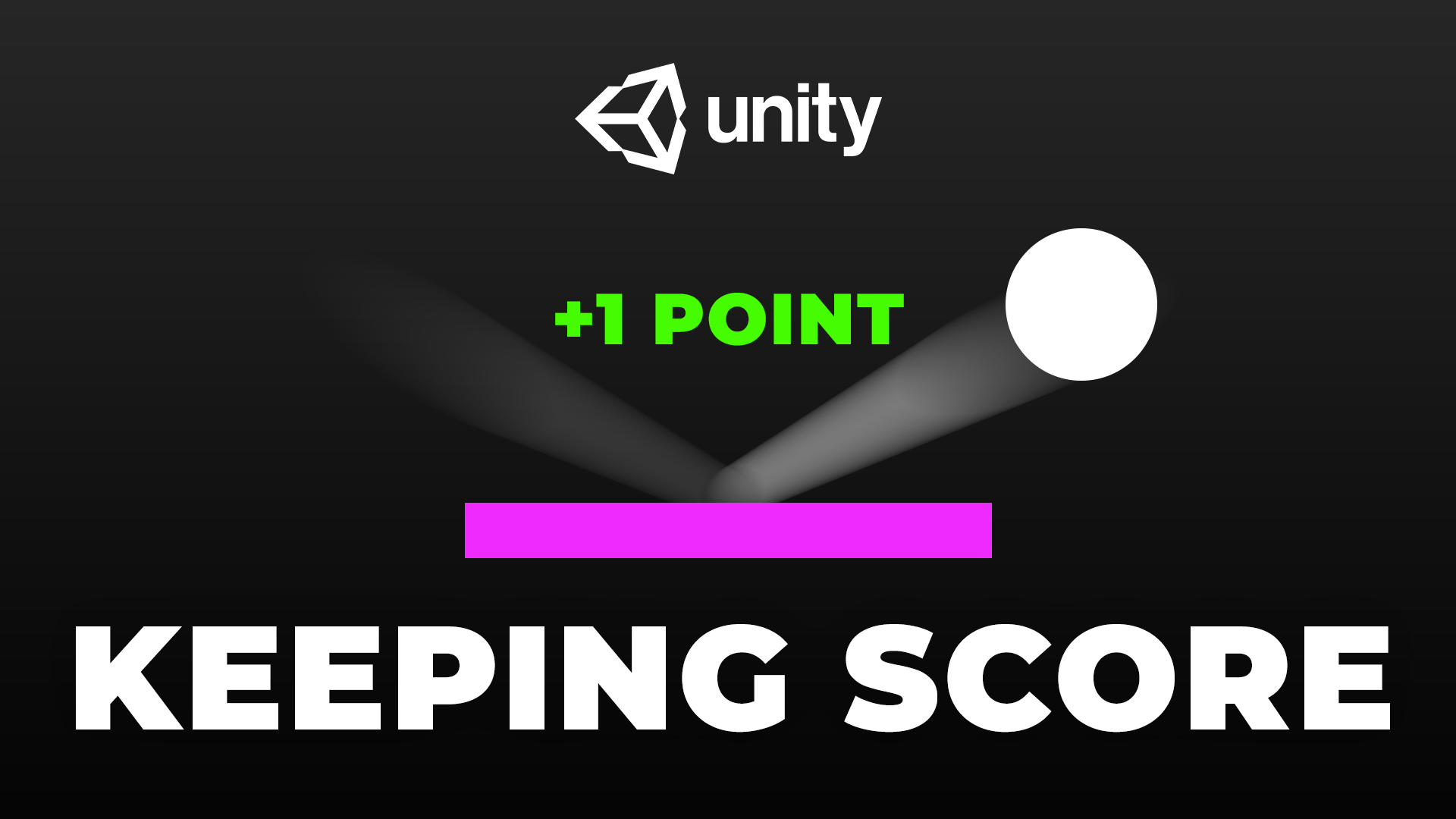 How to Keep Score in Unity - A Basic Game Tutorial