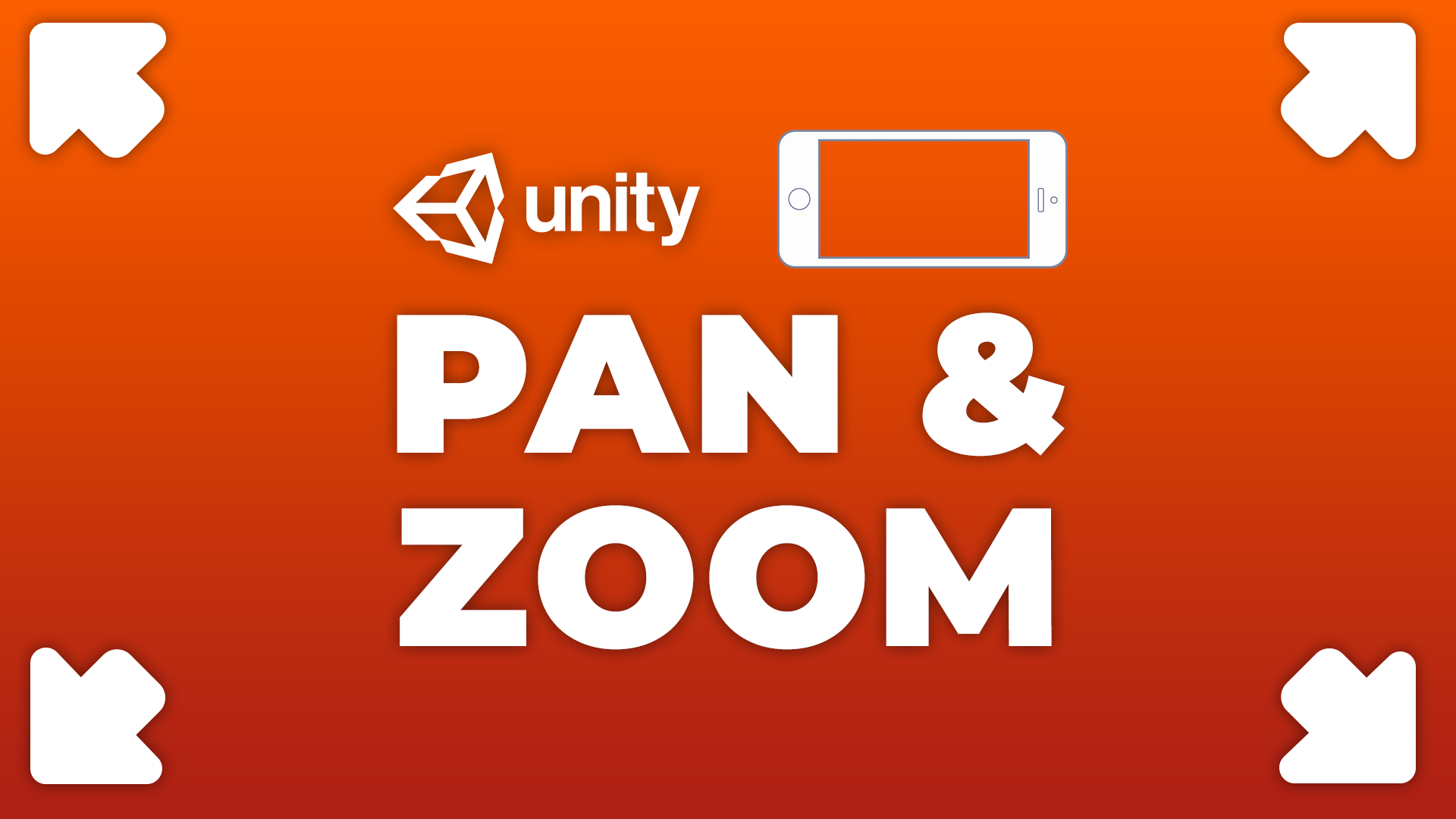 Pan & Zoom - How to Pan and Zoom on Touch Devices in Unity